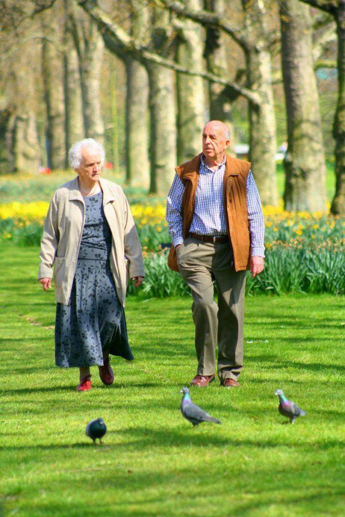 Namoro de pessoas mais velhas na Bélgica